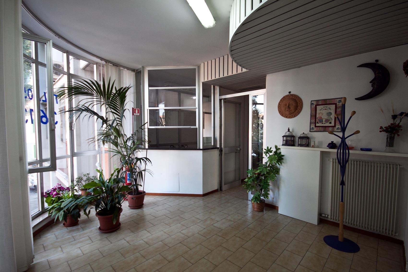 L'ingresso – Istituto Atheneo
